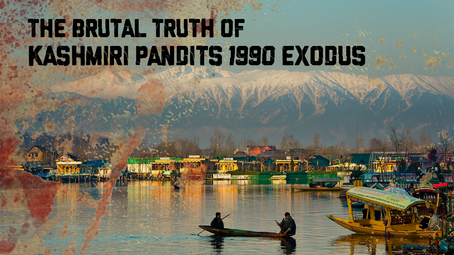 A Home Lost Forever To The 1990 Exodus: A Traumatic Memoir Of A Kashmiri Pandit Family